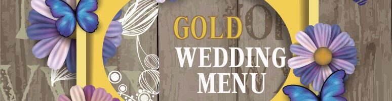 5c GOLD WEDDING PACKAGE