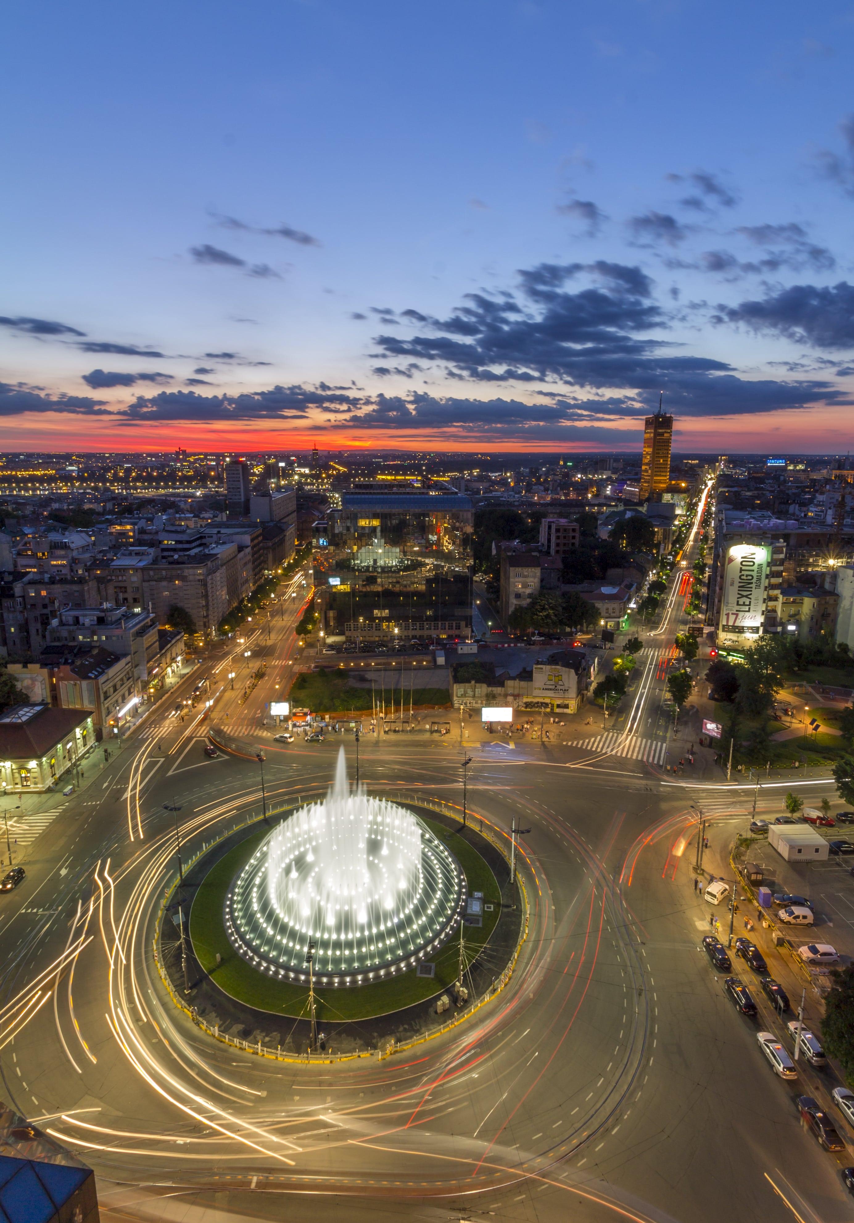 slavija square - Slavija Hotel Beograd
