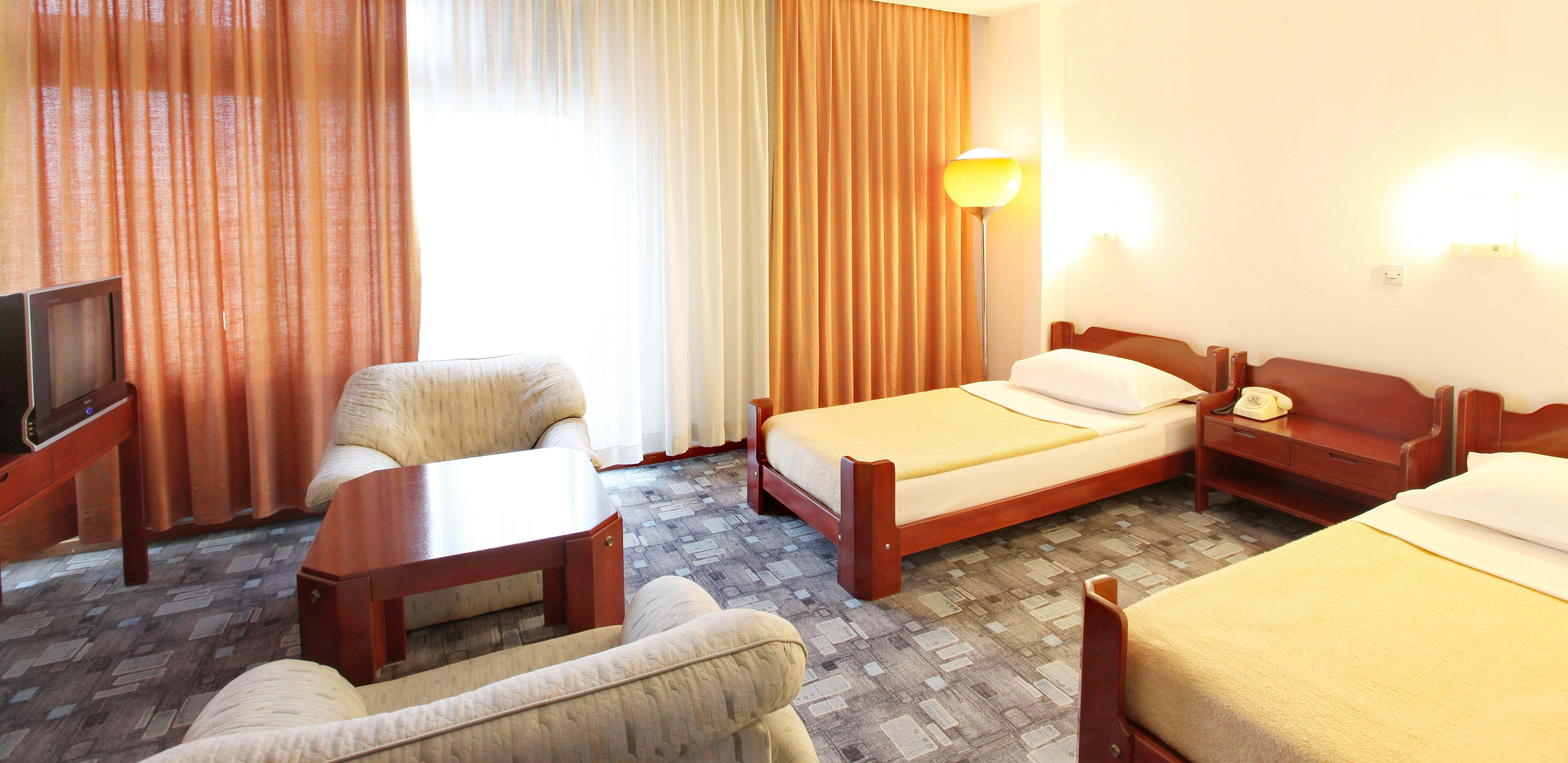 Interior design for comfort rooms for Design hotel belgrade